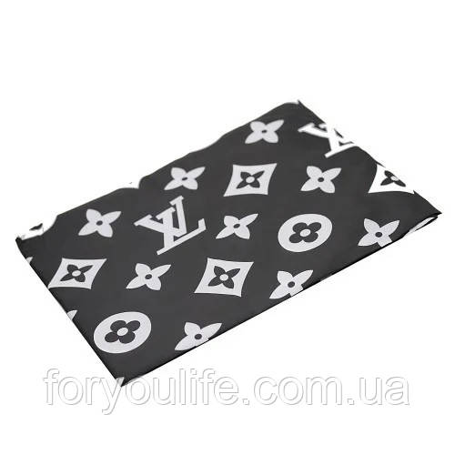 "Пеньюар для стрижки волос ""Louis Vuitton"" YRE PCB-03 (черный)"