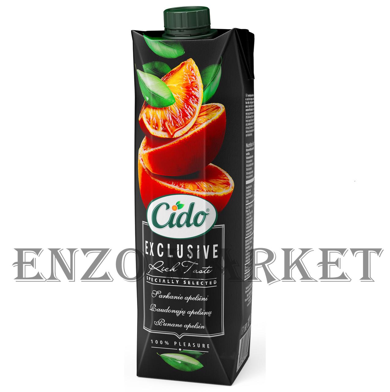 Нектар CIDO Красный апельсин, 1 литр