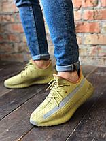 "Мужские кроссовки Adidas Yeezy Boost 350 v2 ""Marsh"", фото 2"