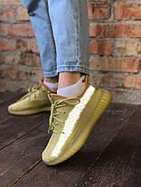 """Жіночі кросівки Adidas Yeezy Boost 350 v2 """"Marsh"""", фото 3"""
