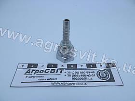 """Ниппель DKR 1/4""""-19 (под шланг dу=06 мм.)"""