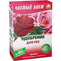Удобрение Чистый Лист коробка Розы 300г /9шт