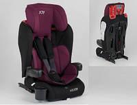 Темно-синее универсальное детское автокресло JOY 73180, система ISOFIX!!!!!!