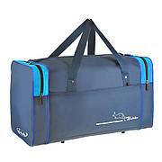 Дорожная сумка Wallaby размер средний 54х32х24 ткань нейлон 420 Ден синяя  в 340син