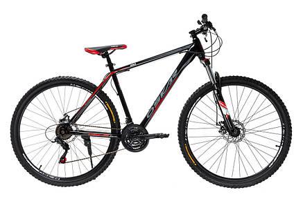 """Велосипед горный Oskar 29"""" 1848 Сталь Красный с амортизацией Хардтейл Велосипед гірський MTB червоний, фото 2"""