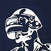 "Футболка т синий HOPE с принтом ""CHICKEN DINNER"", лента Ф-11 DBLU L(Р) 19-630-020-002, фото 4"