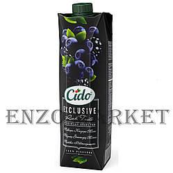 Сокосодержащий напиток CIDO Черника-Ежевика, 1 литр