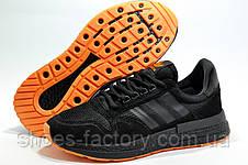 Мужские кроссовки в стиле Adidas ZX 500 Boost, Black\Orange, фото 3