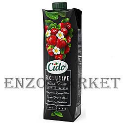 Сокосодержащий напиток CIDO Земляника-Клюква, 1 литр