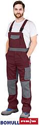 Защитные брюки типа комбинезон BOMULL-B BORS