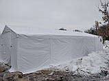 Шатер 5х10 ПВХ 560 г/метр с мощным каркасом для кафе бара садовый ангар гараж склад павильон тент палатка, фото 3
