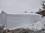 Шатер 6х12 ПВХ 560 г/м2 с мощным каркасом торговый павильон палатка тент ангар гараж склад, фото 3