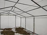 Шатер 6х12 ПВХ 560 г/м2 с мощным каркасом торговый павильон палатка тент ангар гараж склад, фото 5