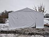 Шатер 6х12 ПВХ 560 г/м2 с мощным каркасом торговый павильон палатка тент ангар гараж склад, фото 6