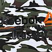 Футболка спортивная зеленый камуфляж REEBOK б/рук с кап Ф-302 K-5 L(Р) 20-918-020, фото 2
