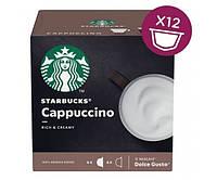 Кофе в капсулах Starbucks Dolce Gusto Cappuccino - 12 шт