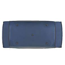 Дорожная сумка Wallaby размер  54х32х24 ткань нейлон 420 Ден синяя  в 340син ч, фото 3