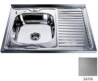 Мойка Platinum 800х600 из нержавеющей стали на кухню