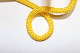 Шнур круглый 6мм Полипропилен 100м желтый, фото 2