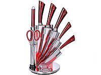 Набор кухонных ножей для кухни Royalty Line 8 предметов RL-KSS804 Красный (RL-KSS804)
