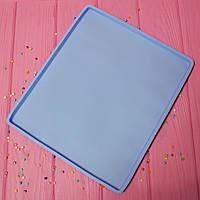 Силиконовый коврик-противень (с бортиком) 30х24,5х1 см., фото 1