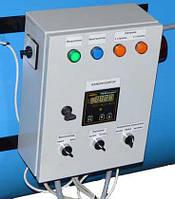 Шкаф (пульт) управления теплогенератора с двухступенчатой горелкой
