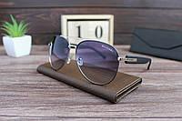 Очки  мужские авиаторы солнцезащитные BVLGARI. Стильные мужские очки. Реплика. ТОП Качество!, фото 1