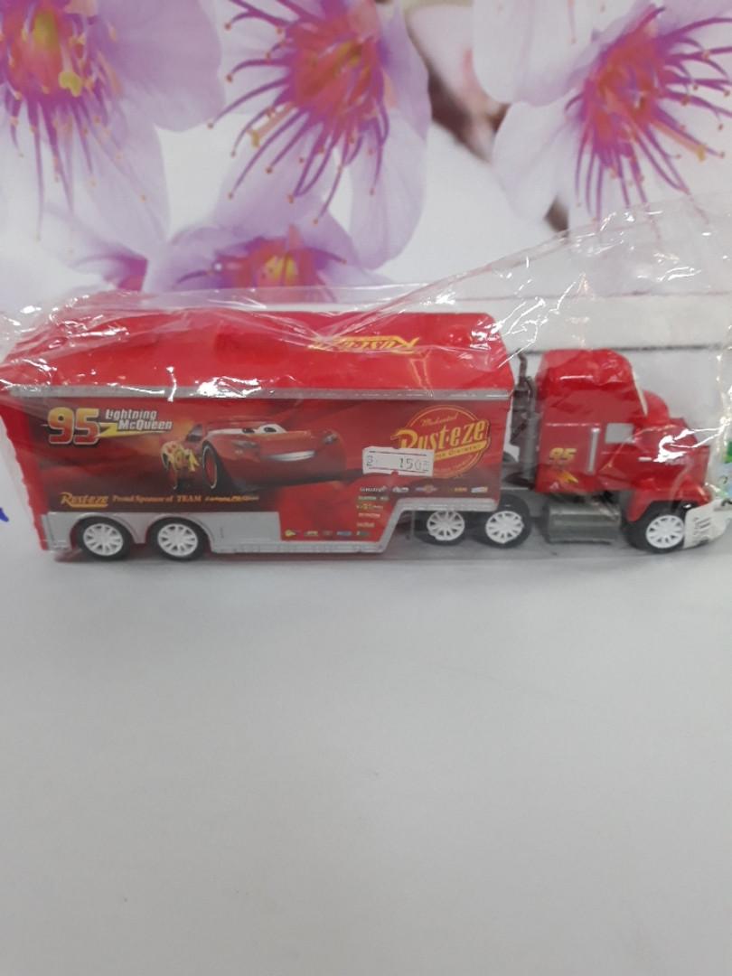 Машина Rusteze красная с длинным кузовом