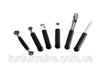 Набор из 6 ножей для декоративной нарезки Hendi 856291