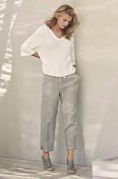 Женские летние льняные брюки. Размер 40-74+ плюс сайз,, фото 1