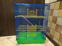 Клетка Крыса3. 46*28*60. Для грызунов, фреток, шиншилл, белок, лемуров и других экзотических животных.