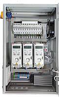 Шкаф (пульт) управления вентиляторами. Управление частотными преобразователями. Наружное исполнение.