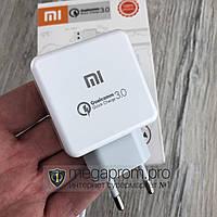 Зарядное устройство Xiaomi MI Qualcomm Quick Charge 3.0 быстрая зарядка micro USB для телефона сяоми 3.1A