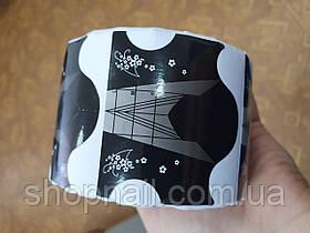 Форма для наращивания ногтей, черные, 500 шт