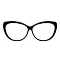 Овальные очки, бабочки