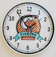 Часы настенные Рыбацкая тематика 1 t3