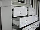 Комод пеленальный с 5 ящиками Kids Baby Dream орех темный, фото 9