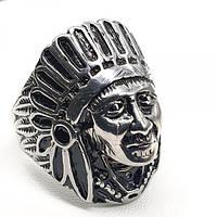 Чоловіче кільце Вождь племені з медичної сталі 175931, фото 1