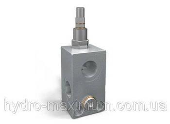 Клапан предохранительный трубного монтажа Oleodinamica Marchesini VMP 3/8'' L80-300 BAR