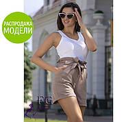 """Шорты женские с бантом """"Monaco""""  Распродажа модели, фото 1"""