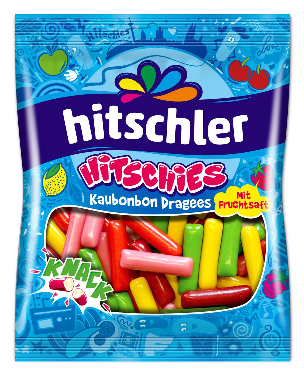 Цукерки жувальні Hitschler 125г Original Mix