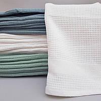 Вафельные полотенца для лица 90х50 см