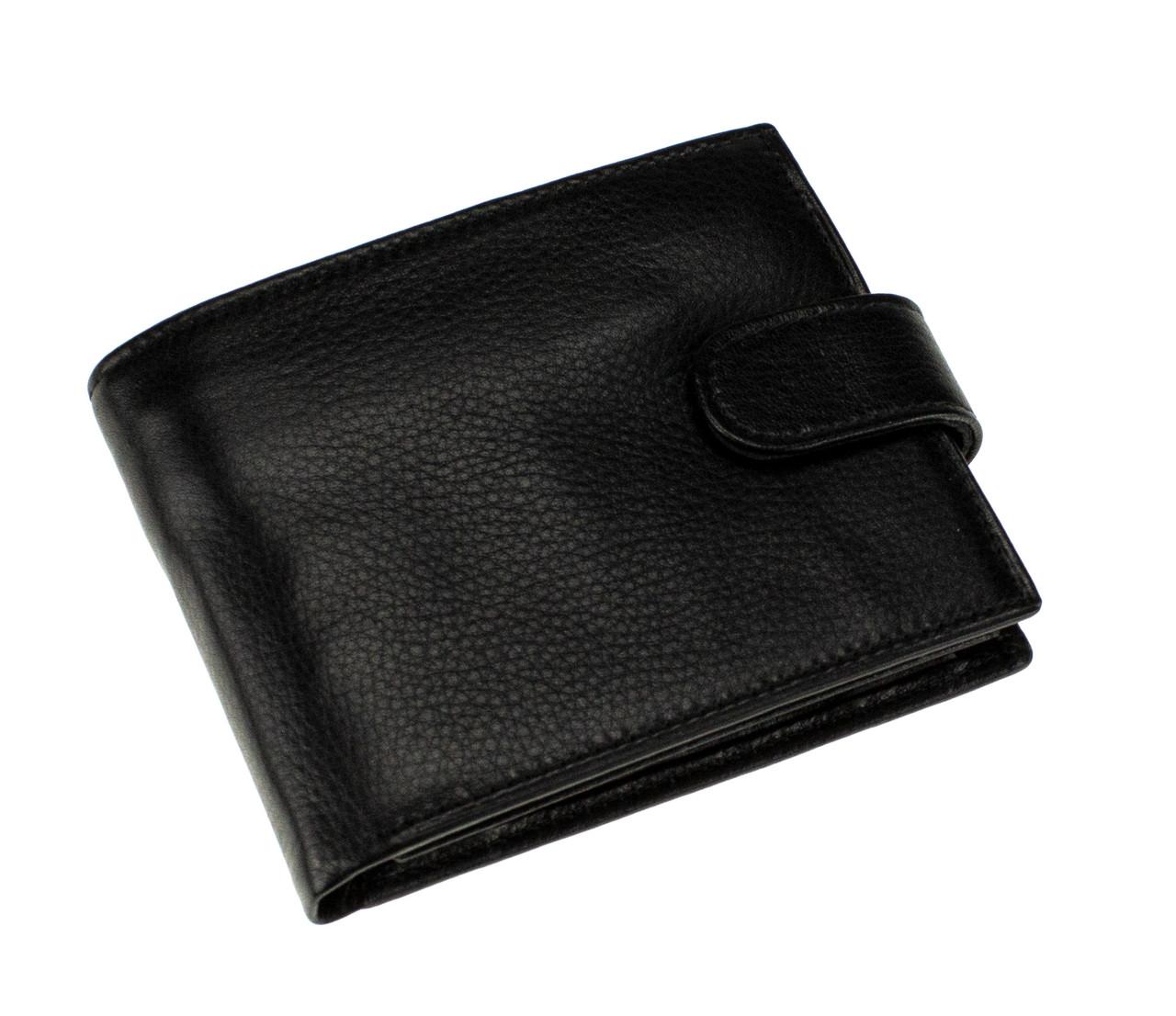 Мужское портмоне Eminsa 1016-12-1 кожаное черное