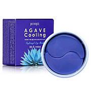 Гидрогелевые охлаждающие патчи для глаз с экстрактом агавы Petitfee Agava Cooling Hydrogel Eye Mask 60 шт