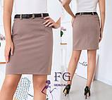 """Женская юбка мини """"Gloss""""  Распродажа модели, фото 4"""