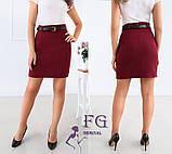 """Женская юбка мини """"Gloss""""  Распродажа модели, фото 7"""