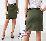 """Женская юбка мини """"Gloss""""  Распродажа модели, фото 9"""