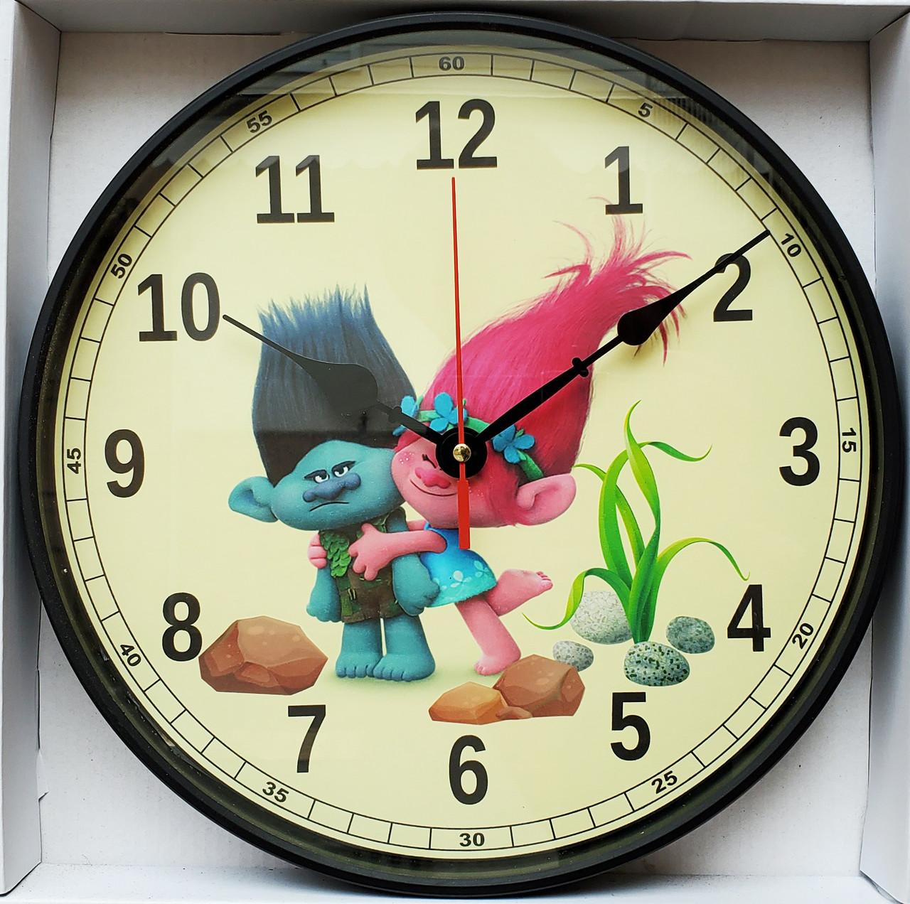 Часы настенные тематические 29см  t4