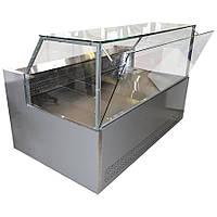 """Витрина холодильная """"Европа куб -1.2"""" (0..+8), выкладка 730 мм"""