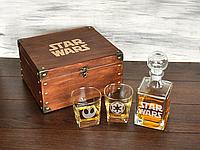 Мужской подарочный набор для виски с гравировкой «Звездные войны», корпоративный подарок